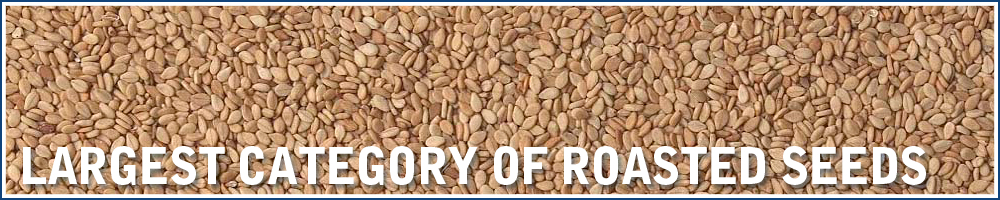Largest category of roasted seeds and kernels